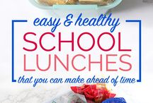 School lunches for kiddos