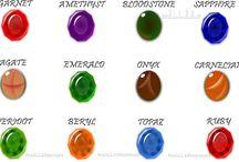 Gemstones in Islam / #Gemstones #Gems #Aqiq #Red #Yellow #Carnelian #Permissible #Shirk in #Islam