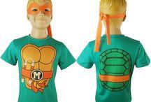 Teenage Mutant Ninja Turtles cosplay costumes / Teenage Mutant Ninja Turtles mascot costume t-shirt sports anime comic-con halloween costume
