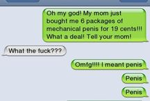 Autocorrect Funnyness / by Amber Derieux