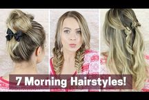 Hair ups for Eden