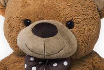 Large Teddy Bear Christmas Gift Big Soft Plush Kids Toys Boy Girl Friend Brown