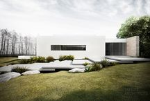 A - houses / by Jennifer Turner