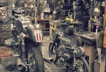 #Motorecyclos garages