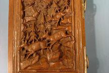 Black Forest Wooden Carved Box / by Susan Barnhart