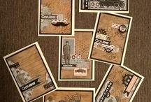 Masculine Cards by LivArtNow / Handmade Masculine Cards created by LivArtNow