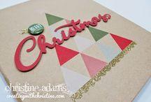 Christmas Mini Albums / My Crush Holiday Happenings, Hip Pic Christmas album ideas