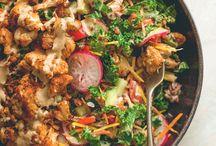 recipes: vegan entree salads