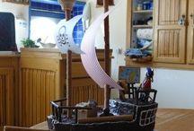 gateau bateau pirate