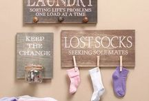 Home- Laundry Room / by Jessica Sunde