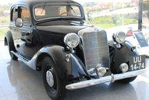 Mercedes Benz año 1950 / Mercedes clásico del año 1950 de Don Zacarías Moro Moro.