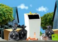 school thema afval recycling