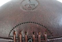 MVP Handmade Designer Leather Rugby Ball / Designer Vintage Rugby ball individually hand-crafted using the finest 100% genuine leather by The Modest Vintage Player.