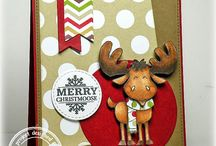 Christmas / Winter Fun / Cards and Gift Ideas using SugarPea Designs clear stamps.