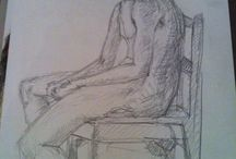 Sketa - life sitting / 5-10 minute quick life drawings