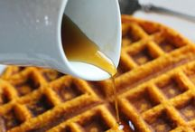 Waffles / Interesting ways to display and serve Waffles