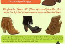 Boot Store / Browse this site http://www.bootsnclass.com/ for more information on Boot Store. One of the most interesting things about Boot Store is that they were mostly custom made, which means nearly every pair is different. You can find boots in all sorts of colors, with some being monogrammed, decorated or stamped. Follow Us: http://uid.me/cowgirl_outfits