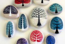 Artistic pebbles / It's all about how to make pebbles artistic, there are so many different designs on pebbles that can be made easily.