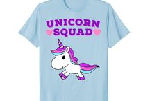 Unicorn T shirts!