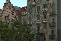 Gaudi Cathedral (Sagrada Familia)  Barcelona, Spain / by Hampton Hostess CG3 Interiors-Barbara Page Home