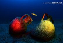 Underwater shoot-out photos in Bodrum