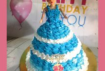 Bánh kem sinh nhật công chúa