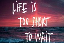LIVE is too short,TO WAIT / LIVE with LOVE