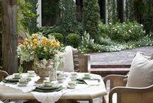 French inspired gardens