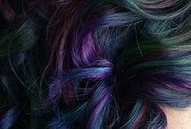 Colourful Hairdos