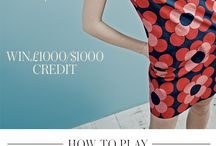 Boden's Swing It, Pin It, Win It Competition / Swinging 60s inspired pins