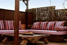 OUTDOOR PILLOWS + CUSHIONS / Outdoor fabric inspirations. Outdoor pillows Www.shopboxhill.com