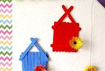 Popsicle Stick Art & Craft Ideas