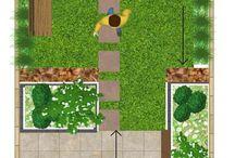 Trädgård tomtaäng