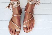 For the love of sandals