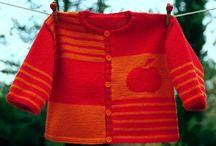 casacos infantis tricô