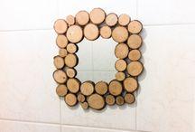DIY met hout / Een bord vol met knutselprojecten met hout