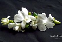 Wedding Body Flowers / Corsages, Boutonnieres, Hair Flowers