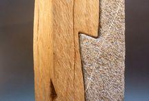 hout steen
