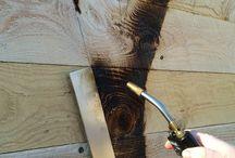 trabalhos en madeira