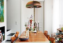 Dining Rooms and Gathering Spaces / Gather round the table for a meal! / by Anne Sage