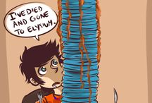 PJO/HoO / With great power... comes the great need to take a nap.