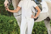 Ladies Equestrian Show Shirts / The most popular English Styles. Perfect for Dressage, Hunter/Jumper, Eventing -- All English Equestrian Disciplines. Selections From Major Global Manufacturers.