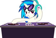VINYL SCRATCH / Greatest DJ pony in equestria. THIS IS A BOARD ONLY FOR VINYL SCRATCH!!!!!! Thank you.