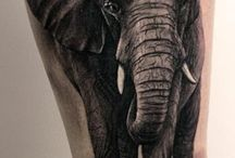 Τατουάζ με ελέφαντες