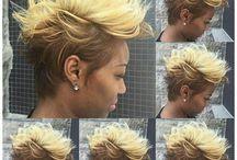 blonde pixies