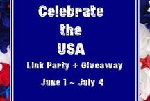 Celebrate in the USA Link Party