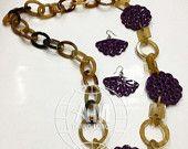 Buffalo Horn Necklaces / 100% buffalo horn #buffalo #horn #necklace #handmade #necklace #jewelry #handmade #horn #jewelry