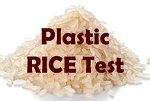 Plastic rice