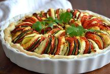 tarte aux légumes