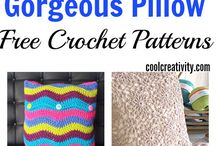 crochet design cushion